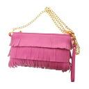 Authentic Samantha Thavasa  Fringe Shoulder Bag Synthetic leather