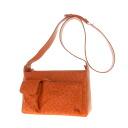Authentic SELECT BAG  Wide Shoulder Bag Ostrich