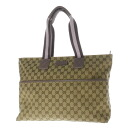 Authentic GUCCI  GG pattern Handbag Canvas