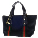 Authentic GUCCI  Bag & Boots Charm with Gucci ribbon motif GG pattern Handbag GG canvas x leather