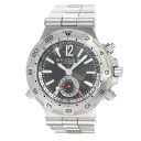 Authentic BVLGARI Diagono DP42S GMT Professional Air Watch Stainless  an automatic Men