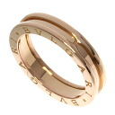Authentic BVLGARI  B-zero1 XL Ring 18K pink gold