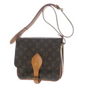 Authentic LOUIS VUITTON  Cartouchiere 22 M51253 Shoulder Bag Monogram canvas