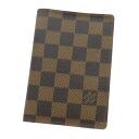 Authentic LOUIS VUITTON  N99072 passport cover Card Case Damier canvas