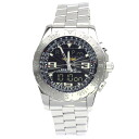Authentic BREITLING Airwolf A78363 Watch Stainless  Quartz Men