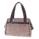 Authentic LOUIS VUITTON  Josephine PM M92314 double zipper Handbag Micro monogram canvas