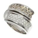 0.52ct Diamond Ring 18K White Gold  Eleven