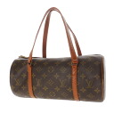 Authentic LOUIS VUITTON  Papillon old Pouch M51385 Handbag Monogram canvas