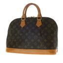 Authentic LOUIS VUITTON  Alma M51130 Handbag Monogram canvas