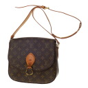 Authentic LOUIS VUITTON  Saint Cloud M51242 Shoulder bag Monogram canvas