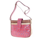 Authentic TSUMORI CHISATO  Embossing Shoulder bag Leather