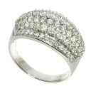 Authentic Queen  Diamond Ring 18K White Gold