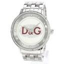 Authentic D&G Rhinestone Watch stainless steel  Quartz Men