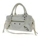 Authentic BALENCIAGA  The Twiggy 2123 Handbag Leather