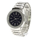 Authentic BVLGARI Bvlgari BB38Stainless SteelD Overhauled Watch stainless steel  Self-winding Men