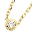 Authentic CARTIER  Diamantina Leger de Necklace 18K Yellow Gold