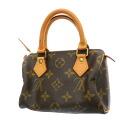 Authentic LOUIS VUITTON  Mini Speedy M41534 Handbag Monogram canvas