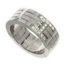 HERMES Kilim ring-ring K18 white gold ladies fs04gm