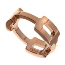 HERMES chain ring and ring K18 pink Womens fs04gm