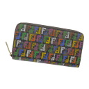 FENDI zucchino zip around wallet ( purses and ) PVC canvas women's fs04gm
