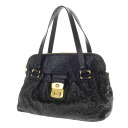 MARC BY MARC JACOBS logo embossed handbag Leather Womens fs04gm