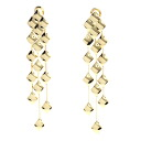 Authentic CHANEL  Matorasse Earring 18K Yellow Gold