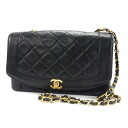 Authentic CHANEL  Matorasse Shoulder bag Leather