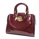 Authentic LOUIS VUITTON  Melrose Avenue M91438 Handbag Vernis