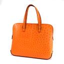 Authentic HERMES  Esukapada Handbag Ostrich