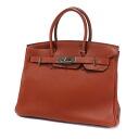 Authentic HERMES  Birkin 30 SilverHardware Handbag Togo