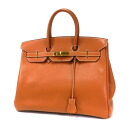 Authentic HERMES  Birkin 35 Gold Hardware Handbag Epson