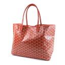 Authentic GOYARD  Saint-Louis PM Tote bag PVC canvas