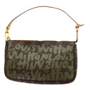 Authentic LOUIS VUITTON  Pochette Accessoires M92191 Accessory pouch Monogram Graffiti canvas