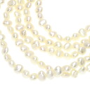 Pearl Freshwater Pearl Necklace 18K Yellow Gold  92.4