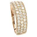 1ct Diamond Ring 18K pink gold  2.5