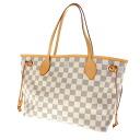 LOUIS VUITTON never full PM N 51110 tote bag Damier Canvas women's fs04gm