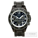 Authentic MARC JACOBS Chronograph Watch stainless steel  Quartz Men