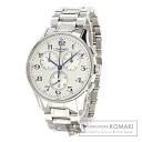 Authentic LONGINES Heritage Chronograph L2.694.4 Watch stainless steel  Quartz Men