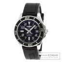 Authentic BREITLING Super Ocean 42 A137364 Watch stainless steel Rubber Self-winding Men