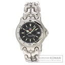 Authentic TAG HEUER Professional WG1418 Watch stainless steel  Quartz Men
