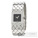 Authentic CHANEL Matorasse Watch stainless steel  Quartz Ladies