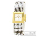 Authentic SWAROVSKI Ellis 1000676 Watch Gold Plated  Quartz Ladies