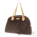 Authentic LOUIS VUITTON  Montorgueil GM M95566 Boston bag Monogram canvas