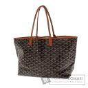 Authentic GOYARD  Saint Louis PM herringbone pattern Tote bag PVC