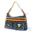 Authentic LOUIS VUITTON  Buggy PMM95049 Shoulder bag Monogram Denim