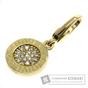 Authentic BVLGARI  Diamond Pendant 18K Yellow Gold