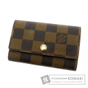Authentic LOUIS VUITTON  Multicles6 N62630 Key case Damier Canvas