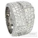 3.96ct Diamond Ring 18K White Gold  16.6