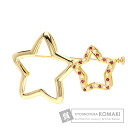 0.23ct Ruby Brooch 18K Yellow Gold  Eight