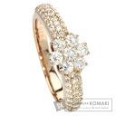 0.7ct Diamond Ring 18K pink gold  3.9